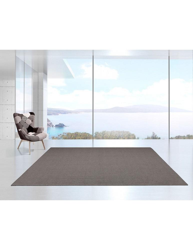 Tappeto per arredamento indoor e outdoor color grigio