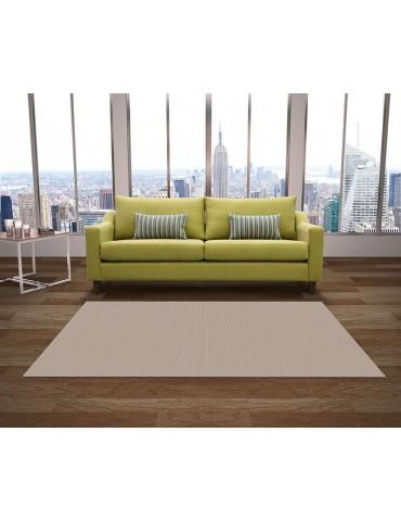 Tappeto per arredamento indoor e outdoor color crema