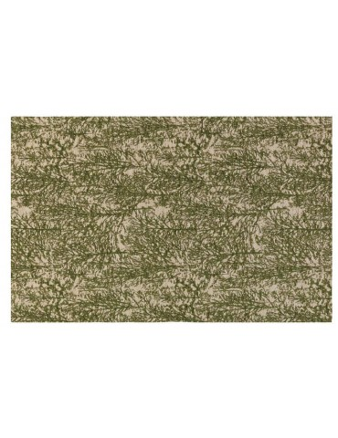 Pianta del tappeto di colore verde