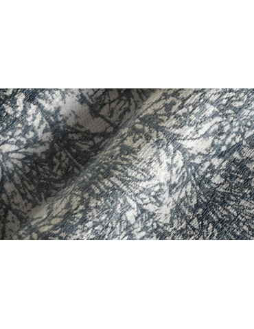Dettaglio del tappeto di colore blu