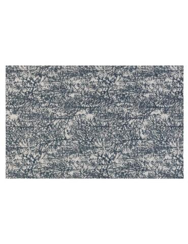 Pianta del tappeto moderno di colore blu
