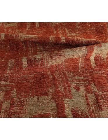Dettaglio del tappeto in offerta moderno multicolore rosso