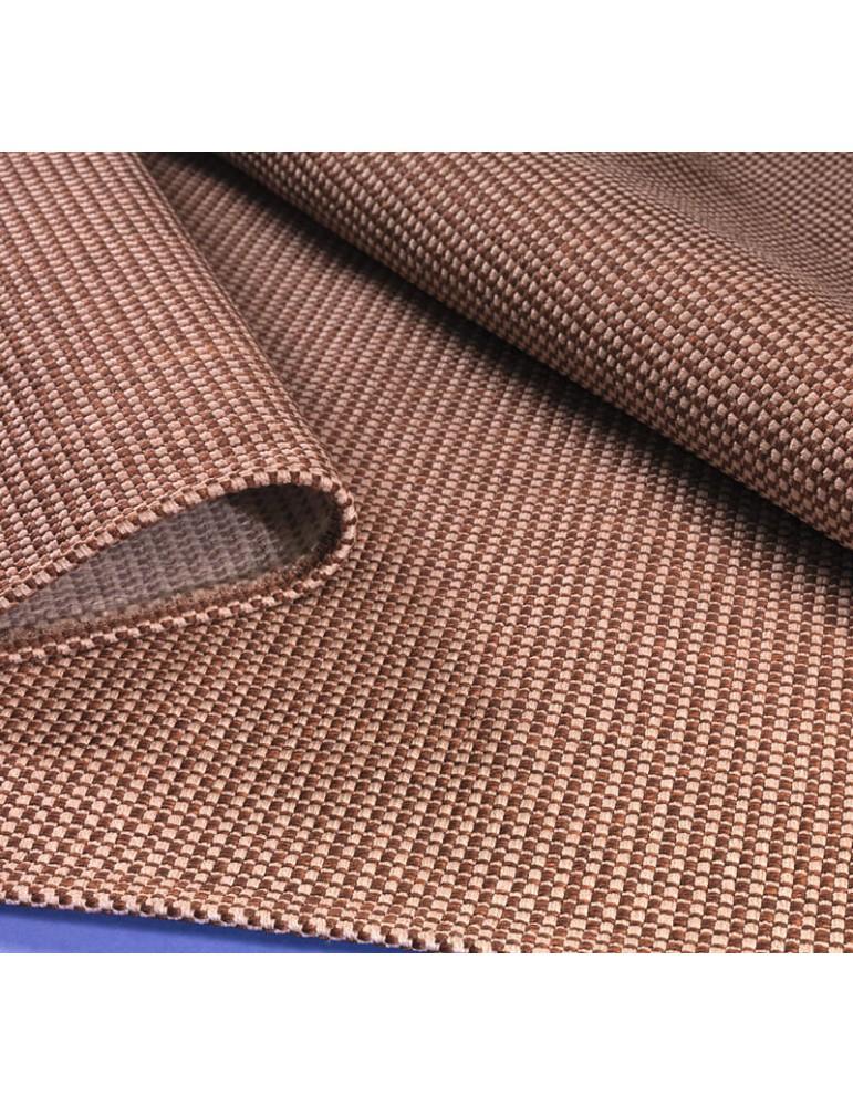 Dettaglio Tappeto per arredamento indoor e outdoor marrone