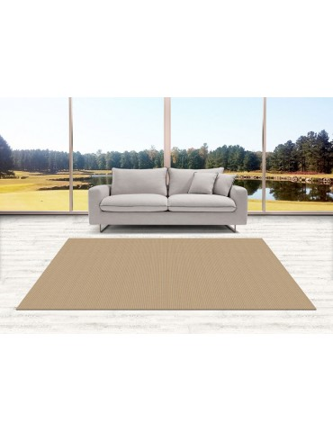 Tappeto ad effetto stuoia per arredamento indoor e outdoor color celeste
