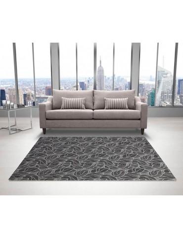 Tappeto moderno di design tonalità grigio