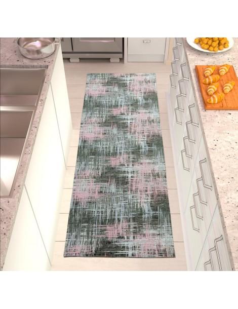 Tappeto chenille da cucina color grigio
