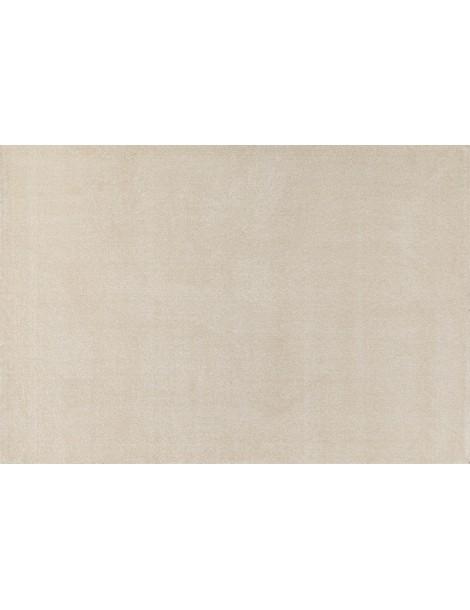Tappeto moderno a tinta piatta color crema