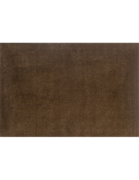 Tappeto minimal color marrone tinta unica