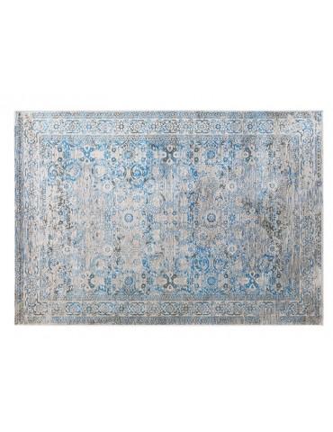 veduta dall'alto del tappeto vintage