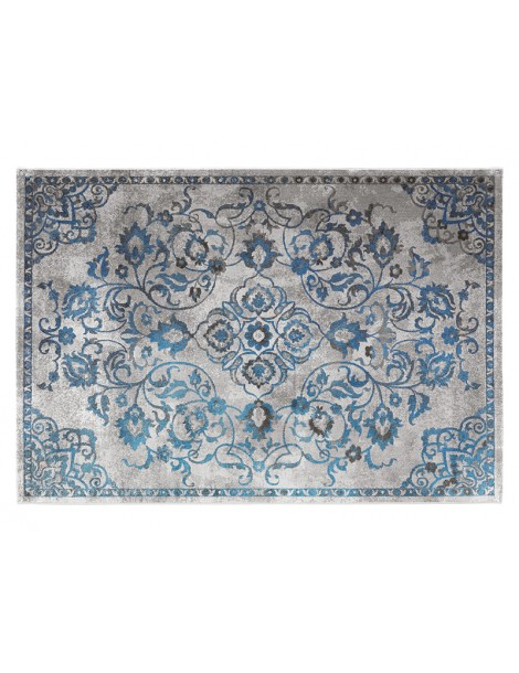 Pianta del tappeto vintage per camera da letto o soggionro