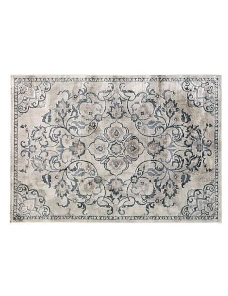 tappeto visto dall'alto in stile invecchiato