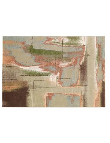 Pianta del tappeto moderno per camera da letto o soggiorno