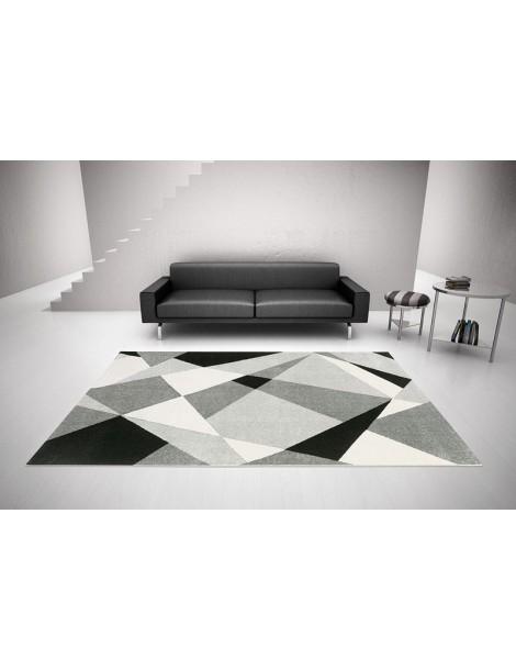 Tappeto moderno in stile geometrico per arredamento casa o ufficio