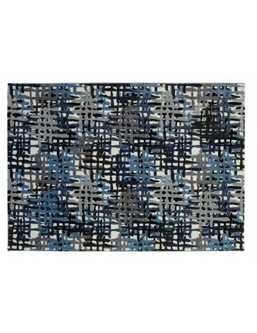 Veduta dall'alto del tappeto moderno