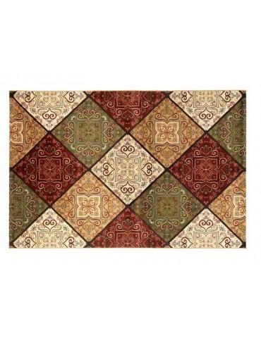 Pianta del tappeto veduta dall'alto