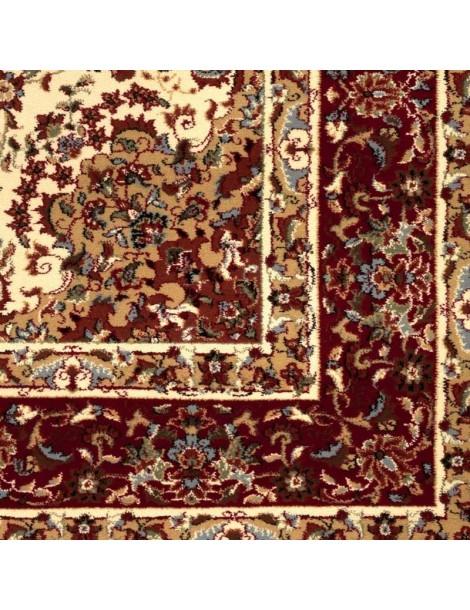 Particolare dell'angolo del tappeto orientale